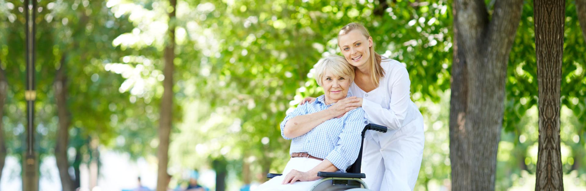 Caregiver and elder